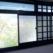 sliding door privacy glass window frosted promotion for service yard we also supply hardware lock