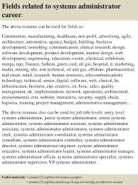 Systems Administrator Resume Examples Best Of Top 24 Systems Administrator Resume Samples