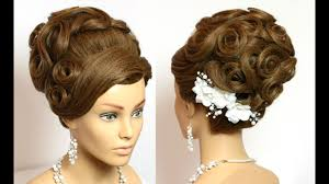 Wedding Bridal Hairstyle hairstyle for long hair tutorial wedding bridal updo youtube 4334 by stevesalt.us