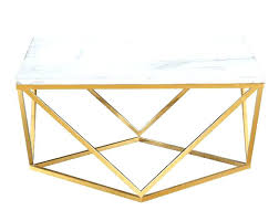 rose gold side table cfee singapore
