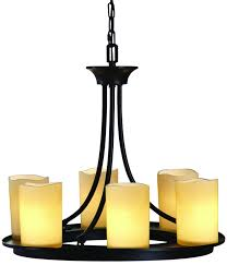 allen roth harpwell 6 light oil rubbed bronze traditional tinted glass shaded chandelier fast