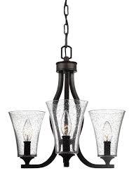 artcraft lighting ac10413 gastown 3 light chandelier in oil rubbed