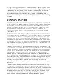 article review sample