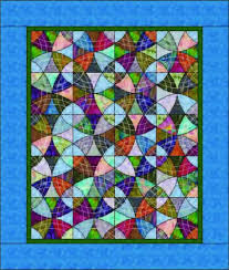 Winding Ways Quilt Pattern MGD-102 (advanced beginner, throw, lap) & Winding Ways Quilt Pattern MGD-102 Adamdwight.com