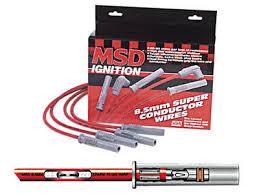 amazon com msd 32239 8 5mm super conductor spark plug wire set amazon com msd 32239 8 5mm super conductor spark plug wire set automotive