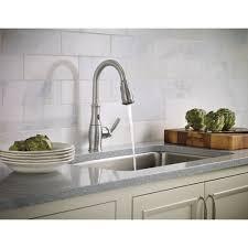 Moen One Touch Kitchen Faucet Moen 7185eorb Brantford Oil Rubbed Bronze Pullout Spray Kitchen