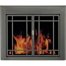 tempered glass fireplace door replacement 28 images