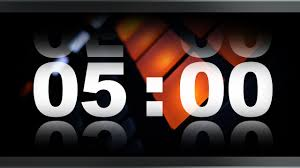 5 Mins Timer Countdown Timer 5 Minute V 409 Timer With Sound Music Effects 4k