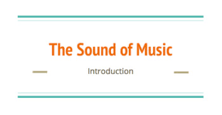 Why do we do it? The Sound Of Music Movie Introduction By Chelsea S Music Stuff Tpt