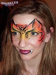tiger makeup face painting tutorial