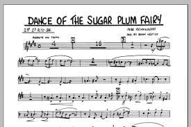 dance of the sugar plum fairy sheet music dance of the sugar plum fairy 2nd eb alto saxophone sheet music