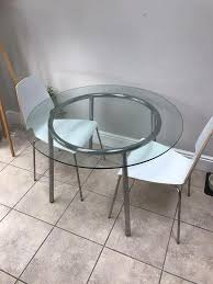 Salmi Ikea Dining Round Table On Carousell