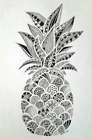 pineapple drawing. imagen de wallpaper, pineapple, and ananas pineapple drawing
