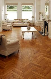 first used in france in the 17th century parquet floors are made from wood blocks that are glued to an under layer to create geometric patterns