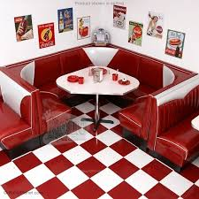 diner style table and chairs uk. 3/4 circle v-back diner booth set designer style table and chairs uk