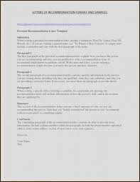 Rec Letter General Letter Of Recommendation Template Lovely 55 Fresh General