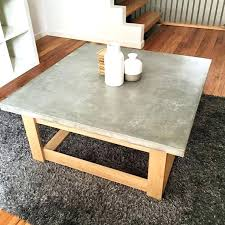 square concrete coffee table beautiful concrete coffee table with appealing concrete coffee table homemade modern concrete