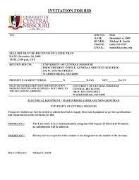bid university of central missouri
