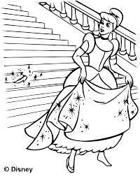 S Lection De Dessins De Coloriage Cendrillon Imprimer Sur