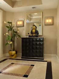 entryway foyer ideas | ... Entry Foyer Design With Buddha Decorating:  modern entrance