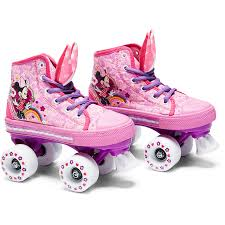 minnie mouse high top skates small