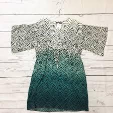 Patterned Classy Patterned Ombré Dress BelliestoBabies