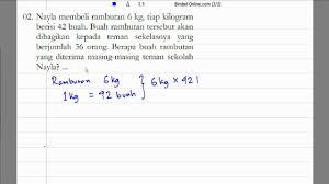 We did not find results for: Soal Cerita Matematika Kelas 6 Pecahan