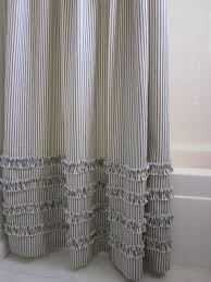 black and white striped shower curtain. like this item? black and white striped shower curtain