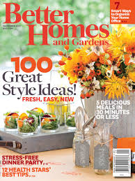 Small Picture Better Homes Gardens Magazine Free Better Homes And Gardens Modern