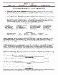 Free Hr Generalist Resume Samples Lovely Human Resources Management