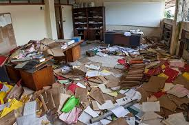 messy office pictures. Download MESSY OFFICE FULL OF FOLDERS AND PAPERS Stock Photo - Image Of Messy, Force Messy Office Pictures M