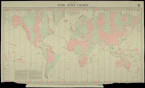 World Time Zone Chart On 2 November 1868 New Zealand Adop