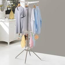 standing clothes rack. Brilliant Standing Collapsible 2Tier Clothes FreeStanding Drying Rack With Standing I