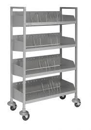 Chart Shelves Flexfit Open Chart Racks Number Of Shelves 4 Cart Size Wide Bumpers Yes