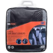 323975 rac car seat cover black 2