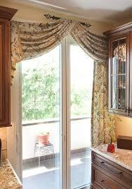 sliding door curtain options designs