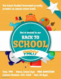 School Poster Designs Create Back To School Posters Online Postermywall