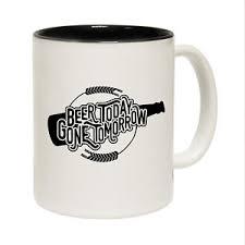 image is loading funny mugs beer today joke birthday gift birthday