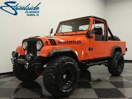 1983 jeep cj8 scrambler 1983 jeep cj8 scrambler for sale oldride com