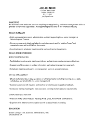 Sample Of A Functional Resume Free Resume Templates 2018