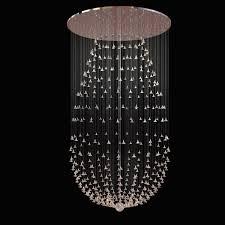 custom made glass flower chandelier 3d model max obj 3ds fbx mtl 1