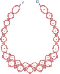 Beaded Necklace Patterns Extraordinary JLene's Creativity Beaded Necklace Pattern DIY