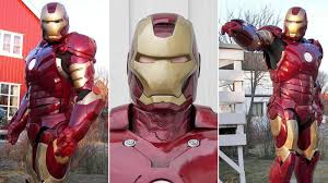 iron man has finally returned to theaters across the country inevitably leaving a lot of us ing for our own set of red and gold armor