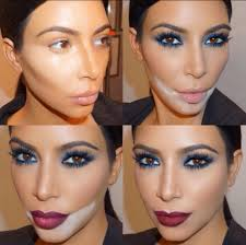tutorial you kimkardashian kim kardashian smoky eye kim k looks just as weird as you do in contouring make up