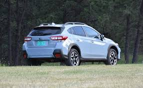 2018 subaru crosstrek.  crosstrek parked amid the forests of south dakotau0027s black hills region this 2018  subaru crosstrek limited is painted a newfor2018 color called cool gray khaki in subaru crosstrek s
