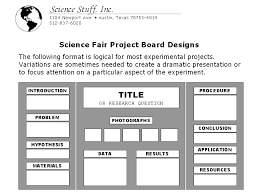 science fair display board template co science stuff science fair display board setup
