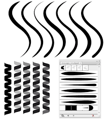 Coil And Line Illustrator Brushes Free