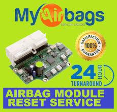 details about all mitsubishi srs airbag puter control puter ecu rcm sdm acm module reset