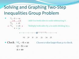 6 solving and graphing two step