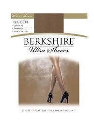 Berkshire Womens Plus Size Queen Ultra Sheer Control Top Pantyhose 4411